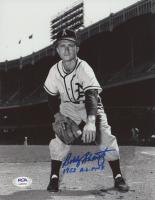 """Bobby Shantz Signed Athletics 8x10 Photo Inscribed """"1952 A.L. M.V.P"""" (PSA COA) at PristineAuction.com"""