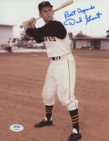 "Dick Groat Signed Pirates 8x10 Photo Inscribed ""Best Regards"" (PSA COA) at PristineAuction.com"
