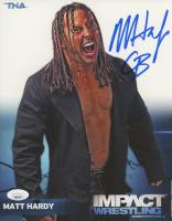 "Matt Hardy Signed TNA Impact Wrestling 8x10 Photo Inscribed ""CB"" (JSA Hologram) at PristineAuction.com"