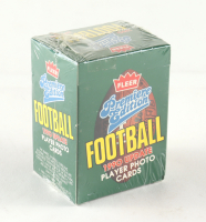 1990 Fleer Premiere Edition Football Update Factory Sealed Box of (120) Cards at PristineAuction.com