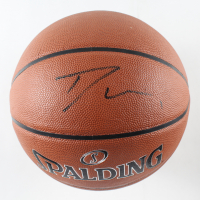 Trae Young Signed NBA Basketball (PSA Hologram) at PristineAuction.com