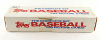 1987 Topps Baseball Complete Set of (792) Cards with Barry Bonds #320 RC, Bo Jackson #170 RC, Mark McGwire #366, Barry Larkin #648 RC at PristineAuction.com