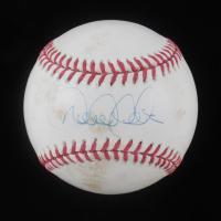 Derek Jeter Signed 2001 World Series Baseball (Beckett LOA) at PristineAuction.com