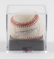 Keith Hernandez Signed ONL Baseball with Display Case (PSA LOA - Graded 9) at PristineAuction.com