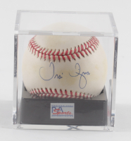 Travis Fryman Signed OAL Baseball with Display Case (PSA Hologram) at PristineAuction.com