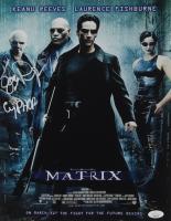 "Joe Pantoliano Signed ""The Matrix"" 11x14 Photo Inscribed ""Cypher"" (JSA COA) at PristineAuction.com"