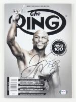 "Floyd Mayweather Jr. Signed 2014 ""The Ring"" Magazine (PSA Hologram) at PristineAuction.com"