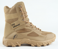 """Robert O'Neill Signed Navy SEAL Tactical Boot Inscribed """"The Operator"""" (PSA COA) at PristineAuction.com"""