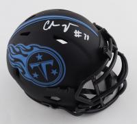 Chris Johnson Signed Titans Eclipse Alternate Speed Mini Helmet (JSA COA) at PristineAuction.com
