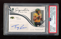 Trey Lance 2021 Immaculate Collection Collegiate Signature Moves #17 #20/99 (PSA 9) at PristineAuction.com