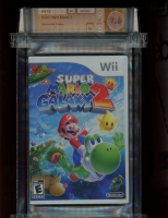 2010 Super Mario Galaxy 2 Nintendo Wii Video Game (WATA 9.6) at PristineAuction.com