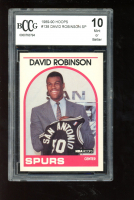 David Robinson 1989-90 Hoops #138 SP RC (BCCG 10) at PristineAuction.com