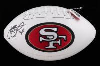 Joe Staley Signed 49ers Logo Football (Beckett Hologram) at PristineAuction.com