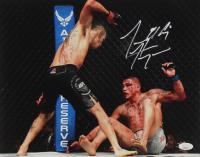 "Tony Ferguson Signed UFC 11x14 Photo Inscribed ""El Cucuy"" (JSA COA) at PristineAuction.com"