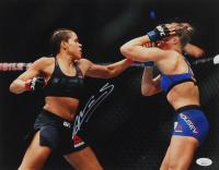 Amanada Nunes Signed UFC 11x14 Photo (JSA COA) at PristineAuction.com