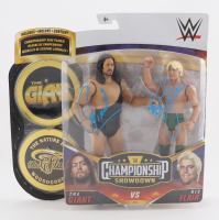 """The Giant & Ric Flair Signed """"WWE Championship Showdown"""" #3 7"""" Action Figures (JSA COA) at PristineAuction.com"""