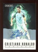 Cristiano Ronaldo 2017 Panini Father's Day Panini Collection Autographs #9 at PristineAuction.com