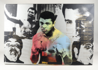 "Muhammad Ali Signed LE Steve Kaufman ""Muhammad Ali: The Greatest"" 30x46 Canvas (Beckett LOA) (See Description) at PristineAuction.com"