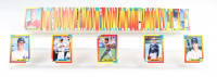 1990 Topps Traded Series Complete Set of (132) Baseball Cards with David Justice #48T RC, John Olerud #83T RC, Travis Fryman #33T RC, Carlos Baerga #6T RC at PristineAuction.com