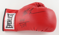 "Mike Tyson Signed Everlast Boxing Glove Inscribed ""HOF 2011"" (JSA Hologram) at PristineAuction.com"