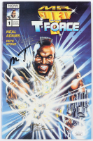 """Mr. T, Neal Adams & Pete Stone Signed 1993 """"Mr. T and the T-Force"""" Issue #1 Now Comic Book (JSA COA) at PristineAuction.com"""