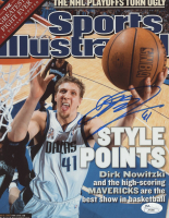 """Dirk Nowitzki Signed """"Sports Illustrated"""" Cover (JSA COA) at PristineAuction.com"""