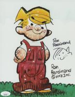 "Ron Ferdinand Signed ""Dennis the Menace"" 8x10 Photo (JSA COA) at PristineAuction.com"