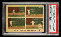 Ted Williams 1959 Fleer #40 Ted Crashes into Wall (PSA Authentic) at PristineAuction.com