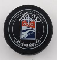 "Grant Fuhr Signed 2016-2017 Oilers Inaugural Season Logo Hockey Puck Inscribed ""COCO"" (JSA COA) at PristineAuction.com"