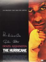 """Rubin """"Hurricane"""" Carter & John Artis Signed """"The Hurricane"""" 18x24 Movie Poster (JSA Hologram) at PristineAuction.com"""