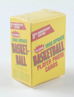 1990 Fleer Update NBA Basketball Card Box with (100) Cards at PristineAuction.com