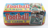1989 Topps Football Complete Set of (396) Cards with Michael Irvin #383 RC, Joe Montana #12, John Elway #241, Dan Marino #293 at PristineAuction.com