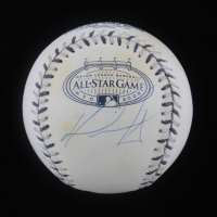 David Ortiz Signed 2008 All-Star Game Baseball (Steiner COA & MLB Hologram) at PristineAuction.com