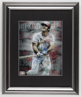 Pete Rose Signed Phillies 13x16 Custom Framed Photo Display (Rose Hologram) at PristineAuction.com