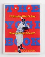 "Yogi Berra Signed ""The Yogi Book: I Really Didn't Say Everything I Said!"" Soft-Cover Book (JSA COA) at PristineAuction.com"