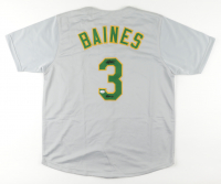 """Harold Baines Signed Jersey Inscribed """"HOF 19"""" (PSA COA) at PristineAuction.com"""