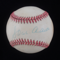 Hank Aaron Signed ONL Baseball (JSA LOA) (See Description) at PristineAuction.com