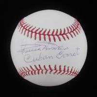 "Minnie Minoso Signed OML Baseball Inscribed ""Cuban Comet"" (JSA Hologram) at PristineAuction.com"