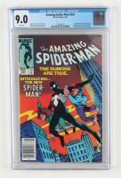 """1984 """"The Amazing Spiderman"""" Issue #252 Marvel Comic Book (CGC 9.0) at PristineAuction.com"""