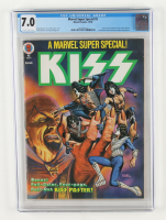 """1978 """"Marvel Super Special: KISS"""" Issue #5 Marvel Comic Book (CGC 7.0) at PristineAuction.com"""