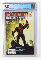 """2009 """"Deadpool: Merc with a Mouth"""" Issue #1 Marvel Comic Book (CGC 9.8) at PristineAuction.com"""