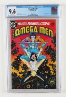 "1983 ""Omega Men"" Issue #3 D.C. Comic Book (CGC 9.6) at PristineAuction.com"