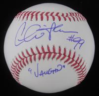 """Charlie Sheen Signed OML Baseball Inscribed """"Vaughn"""" (Steiner Hologram) at PristineAuction.com"""
