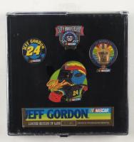 Jeff Gordon LE Set of (4) Pins at PristineAuction.com