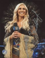 Charlotte Flair Signed 8x10 Photo (Pro Player Hologram) at PristineAuction.com