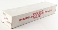 1990 Score Baseball Complete Set of (722) Cards with Ryne Sandberg #561A HL, Bo Jackson #697 FB / BB, Sammy Sosa #558 RC, Frank Thomas #663 RC at PristineAuction.com