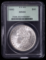 1880 Morgan Silver Dollar (PCGS MS64) at PristineAuction.com