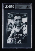 Bob Cousy Signed Celtics 4x6 Photo (BGS Encapsulated) at PristineAuction.com