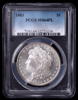 1883 Morgan Silver Dollar (PCGS MS64 Proof Like) at PristineAuction.com