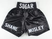 """Sugar"" Shane Mosley Signed Boxing Trunks (Leaf COA) at PristineAuction.com"
